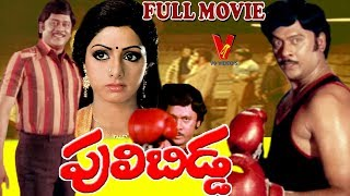 PULI BIDDA | TELUGU FULL MOVIE | KRISHNAM RAJU | SRIDEVI | ANJALI DEVI | V9 VIDEOS