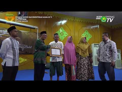 Resepsi HAB KE 72 di Aceh Tamiang