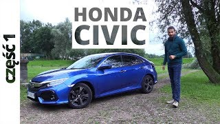Honda CIvic 5D 1.5 VTEC Turbo 182 KM, 2017 - test AutoCentrum.pl #347