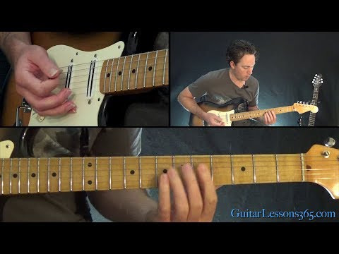 Outshined Guitar Lesson - Soundgarden