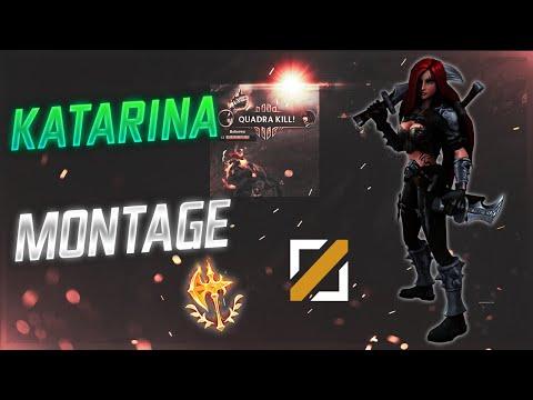 KATARINA MONTAGE #15 | DaggerStuck! - League of Legends