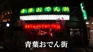 静岡観光おでん屋が軒を連ねるレトロな横丁青葉おでん街