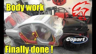 Rebuilding my wrecked charger hellcat part 9