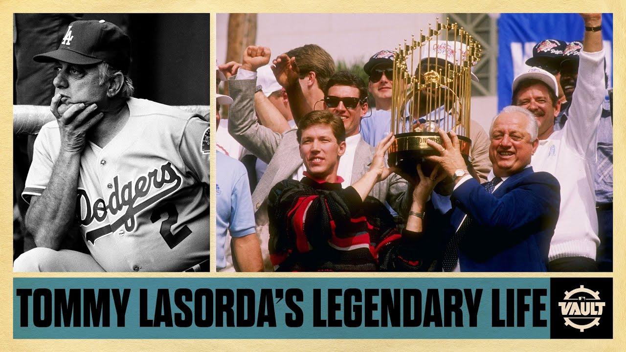 푸른피 사나이, 토미 라소다의 야구 인생