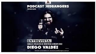 Podcast Jedbangers: Entrevista Diego Valdez (Iron Mask, Dream Child, ex Helker)