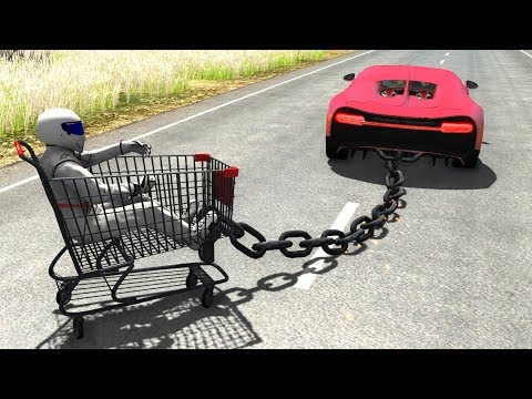Out Of Control Crashes #8 - BeamNG Drive Car Crashes/Fails