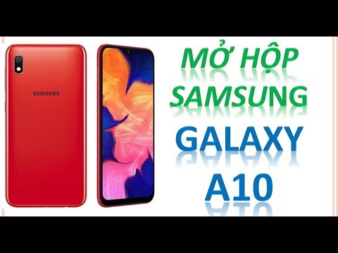 Unbox Samsung Galaxy A10. Giá 3090k. Samsung muốn ôm trọn phân khúc Giá Rẻ ???