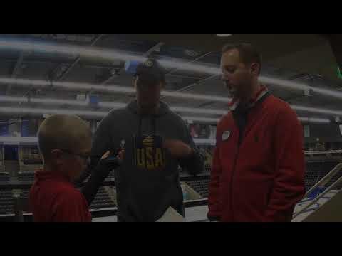 Kid Reporter Interviews U.S Olympic Stars John Shuster and Tyler George