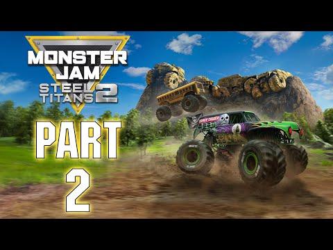 Gameplay de Monster Jam Steel Titans 2