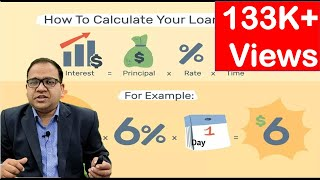 How Banks calculate interest on your Loan Account