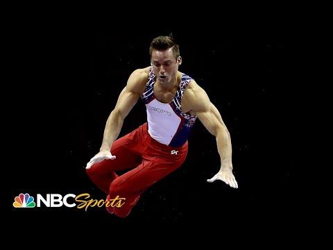 Sam Mikulak's stellar podium training has him ready for world championships | NBC Sports