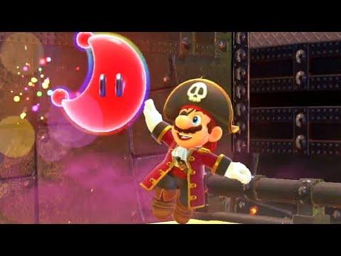 Super Mario Odyssey #17: De Pirata à Samurai!