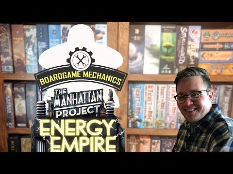 Joel's Cardboard Corner: Manhattan Project: Energy Empire