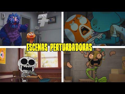 10 Escenas Perturbadoras del Increible Mundo de Gumball que son Inquietantes de VER
