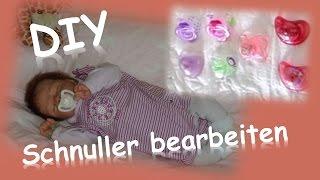 DIY    Schnuller für Reborn Babys bearbeiten    Reborn Baby Deutsch    Little Reborn Nursery