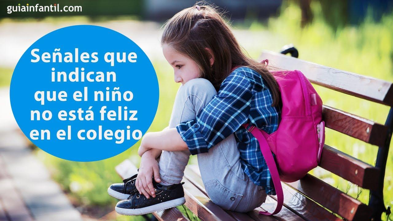 Señales que indican que el niño no está feliz en el colegio   #ConectaConTuHijo