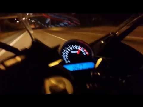 CBR250R Top Speed @ 162+ - смотреть онлайн на Hah Life