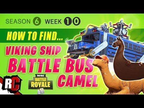 Visit A Viking Ship A Camel And A Crashed Battle Bus Week 10