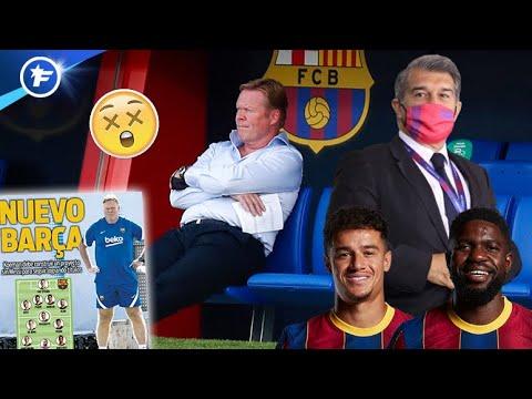 Ronald Koeman en pleine galère au FC Barcelone   Revue de presse