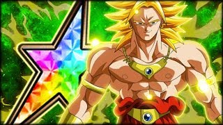 NOT YOUR AVERAGE WHALE! 100% LR BROLY + 100% TUR BROLY SHOWCASE! (DBZ: Dokkan Battle)