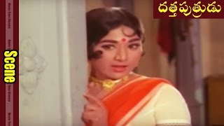 ANR, Vaani Sri First Crush Love Scene || Datta Putrudu Movie || ANR, Vaani Sri ||  MovieTimeCinema