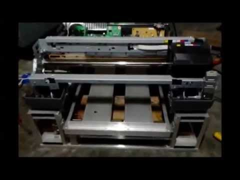 Epson P600 - How to build DIY DTG Flatbed Printer with