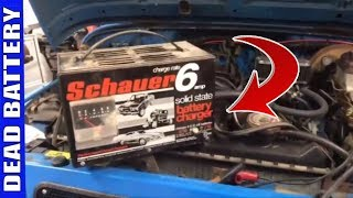 How To Use A Battery Charger On Your Vehicle