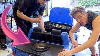 Custom Toy Car SOUND SYSTEM!