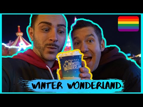 Winter Wonderland Hyde Park With My Boyfriend | Gay Couples First Christmas | JJ Extra Vlogmas