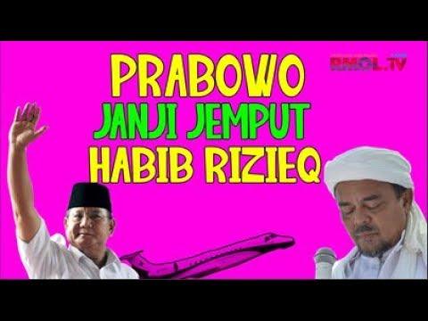 Prabowo Janji Jemput Habib Rizieq