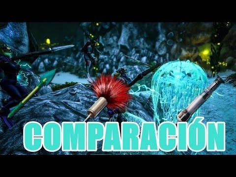 ARK  | COMPARACIÓN DE LOS DARDOS DE BIO TOXINA VS DARDOS Y FLECHAS TRANQUILIZANTES