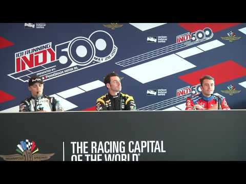 Pagenaud, Davison, and Chilton Indy 500 End of Day 6 Practice News Conference