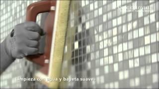 Instalación de mosaicos Metal Acero Highlights de L'Antic Colonial | PORCELANOSA Grupo