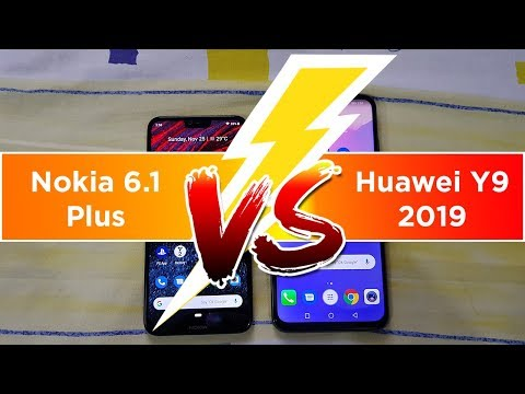Huawei Y9 2019 vs Nokia 6 1 Plus | Which one is Better
