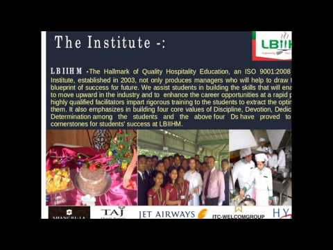 Lakshya Bhartee Institute of International Hotel Management video cover1