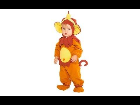 Disfraz de Mono Halloween - QUE LINDO!!! Divertidos Disfraces para Niños!
