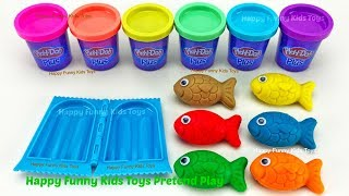 Learn Colors and Making Ice Cream with Play Doh | Surprise Eggs Zuru 5 Surprise Toys