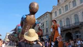 preview picture of video 'Cortège des fêtes de Gayant - Douai édition 2013'