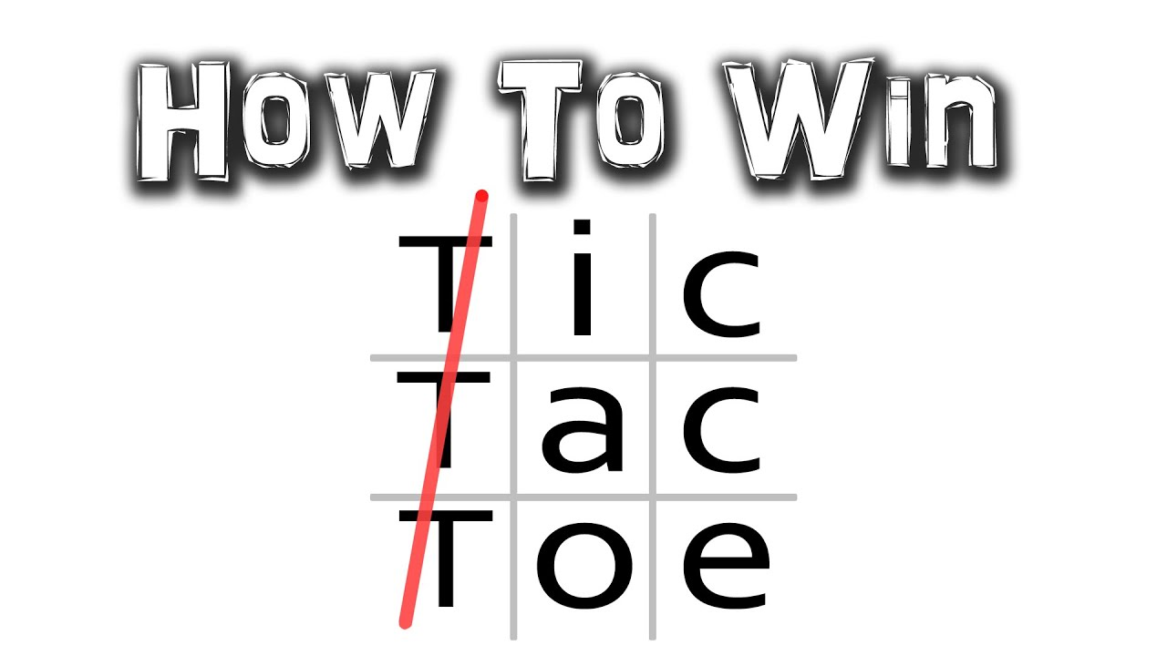 This Video Explains The Easiest Way To Win At Noughts And Crosses