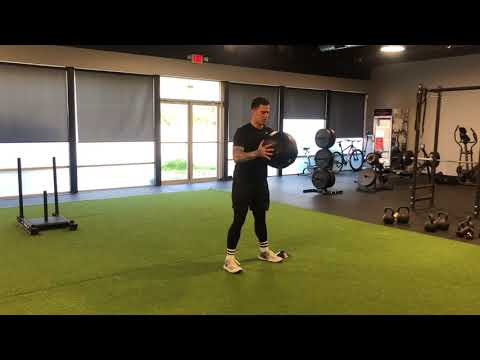 Exercise Demo: Lateral Med Ball Bound