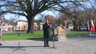 preview picture of video 'Święto Odzyskania Niepodległości Głowno 2013'