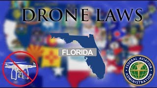Where Can I Fly in Florida? - Every Drone Law 2019 - Miami, Orlando, and Jacksonville  (Episode 9)