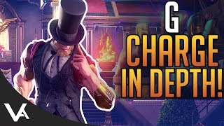 SFV - G Charge Level Guide In Depth! Presidentiality Tutorial For Street Fighter 5 Arcade Edition