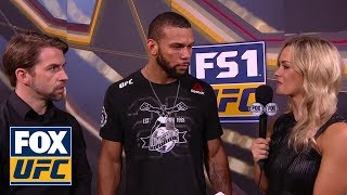 Thiago Santos talks to Laura Sanko | INTERVIEW | UFC FIGHT NIGHT