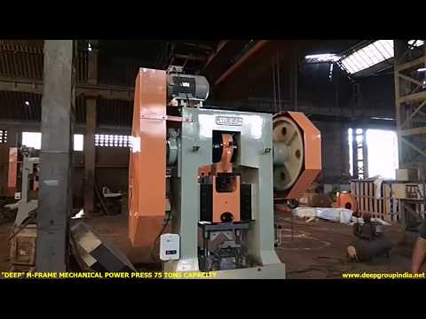 C Frame Mechanical Power Presses