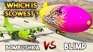 GTA 5 ONLINE : BLIMP vs BOMBUSHKA (WHICH IS BEST?)
