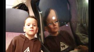 david dubbel in de trein.wmv