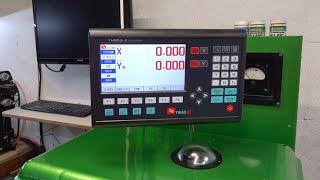 Setzen Sie eine moderne DRO auf die Maschine - Installationsprüfung