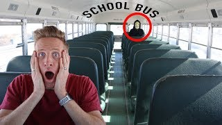 HACKER TRAPPED ME in ABANDONED SCHOOL BUS  IRL (Escape Room Challenge and Mystery Clues)