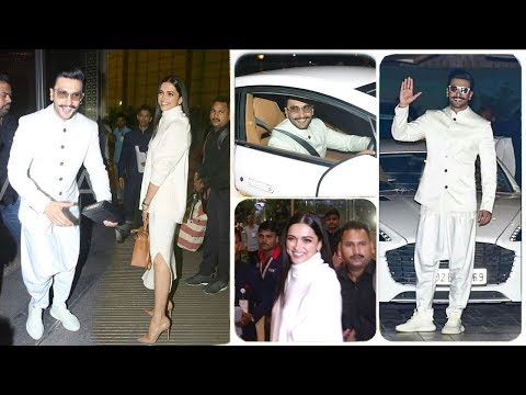 Ranveer Singh and  Deepika Padukone Royal WEDDING